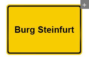Deckenverkleidung auch in Burg Steinfurt