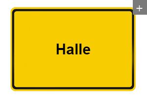 Spanndecken auch in Halle