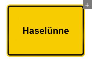 Lichtdecke auch in Haseluenne