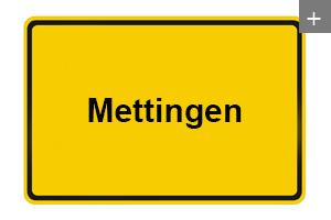 Lichtdecke auch in Mettingen