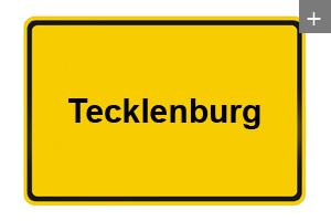 Lackspanndecken auch in Tecklenburg